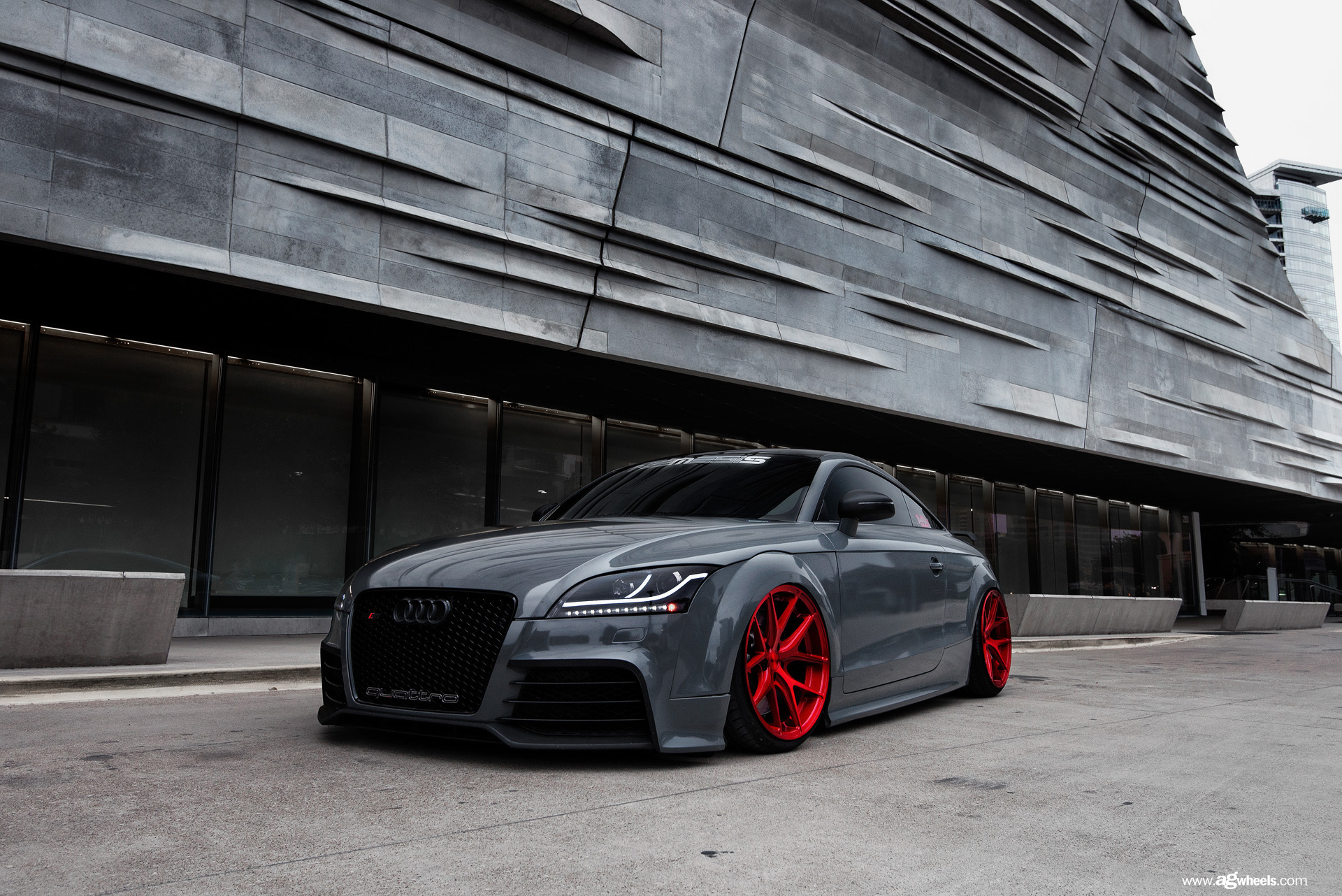 Audi Tt Rs Custom Wheels Avant Garde M580 19x9 5 Et
