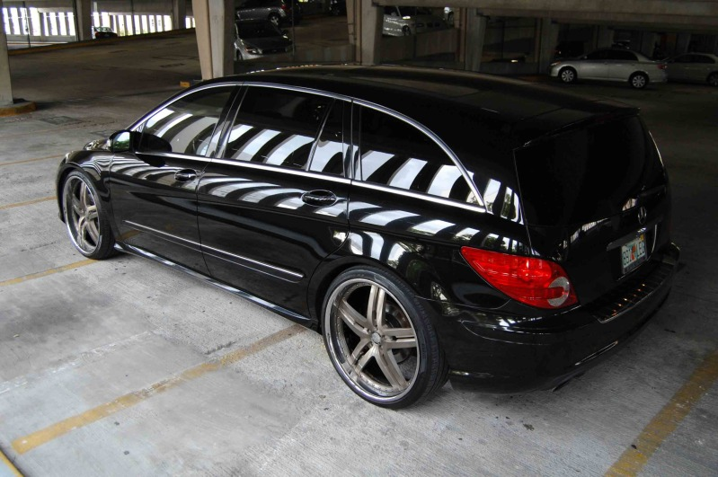 mercedes benz r class custom wheels modular society 24x9 0