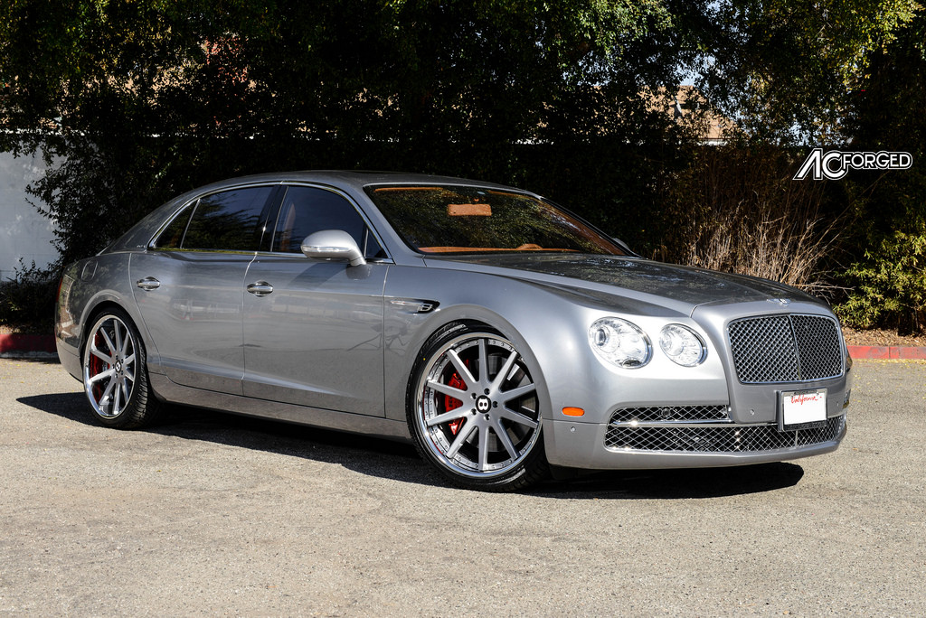 Bentley Flying Spur Modified >> Bentley Flying Spur custom wheels AC ACR 413 22x9.0, ET , tire size 265/35 R22. 22x10.5 ET 295 ...