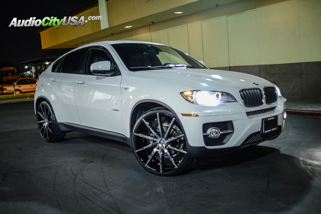 Bmw X6 Custom Wheels Lexani Css 15 24x10 0 Et Tire Size