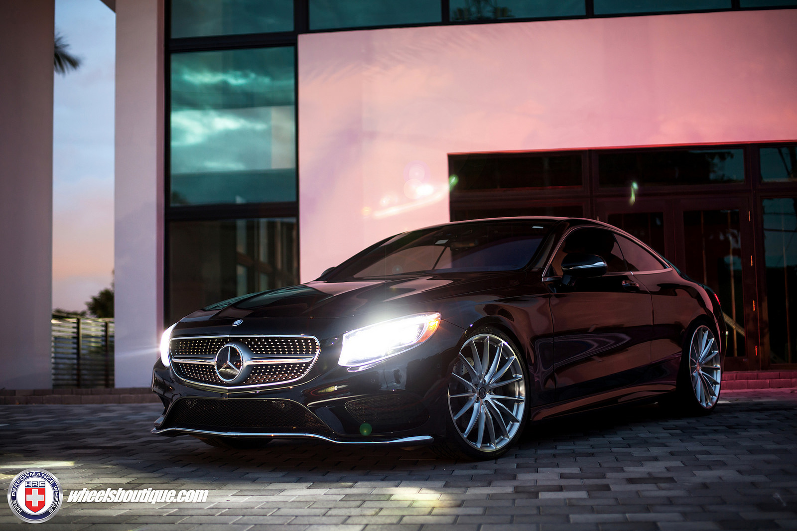 Mercedes benz s class custom wheels hre p103 22x9 0 et for Mercedes benz tyres
