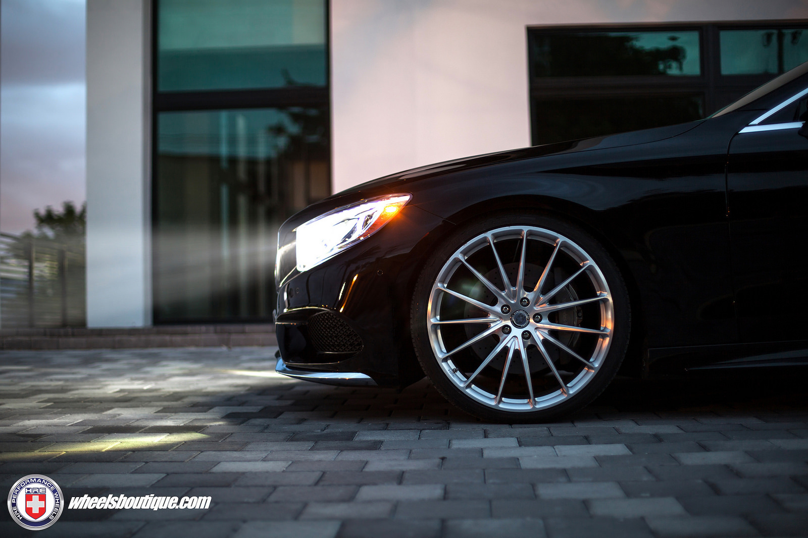 mercedes benz s class custom wheels hre p103 22x9 0 et
