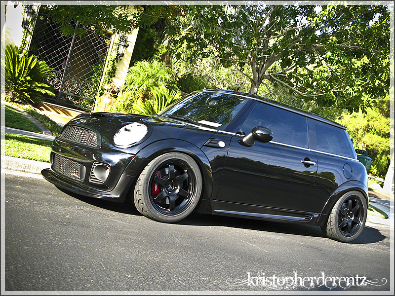 Photo 1 Mini Cooper S Custom Wheels Rays Engineering Volk Racing Te37 17x7 5