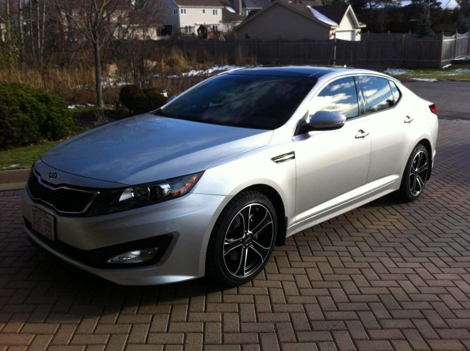 Kia Optima Custom Wheels Moda Md 14 18x Et Tire Size