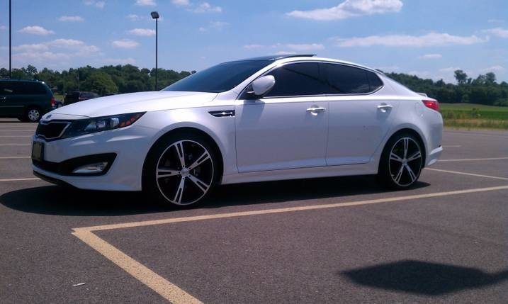 Kia Optima custom wheels American Racing Villians 20x8.5 ...
