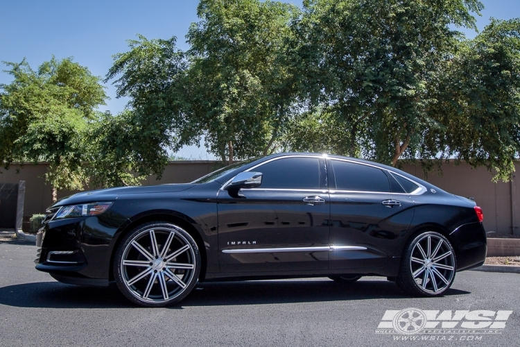 chevrolet impala custom wheels vossen cv4 22x et tire. Black Bedroom Furniture Sets. Home Design Ideas