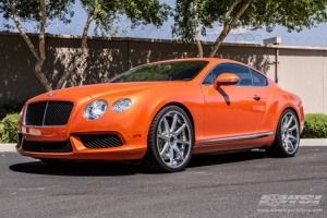 bentley continental gt custom wheels heavy hitters hh11. Black Bedroom Furniture Sets. Home Design Ideas