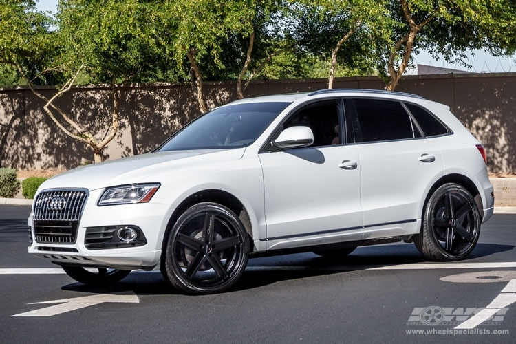 Audi Q5 Custom Wheels Giovanna Dramuno 5 22x Et Tire