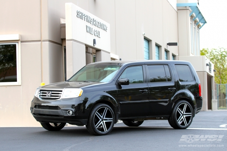 Honda Pilot Custom Wheels Giovanna Dramadio Rl 22x Et