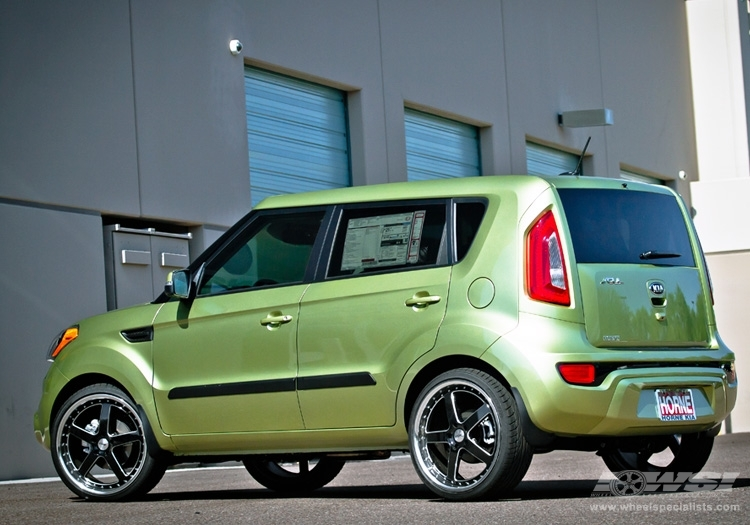 Kia Soul custom wheels TSW Carthage 20x, ET , tire size ...