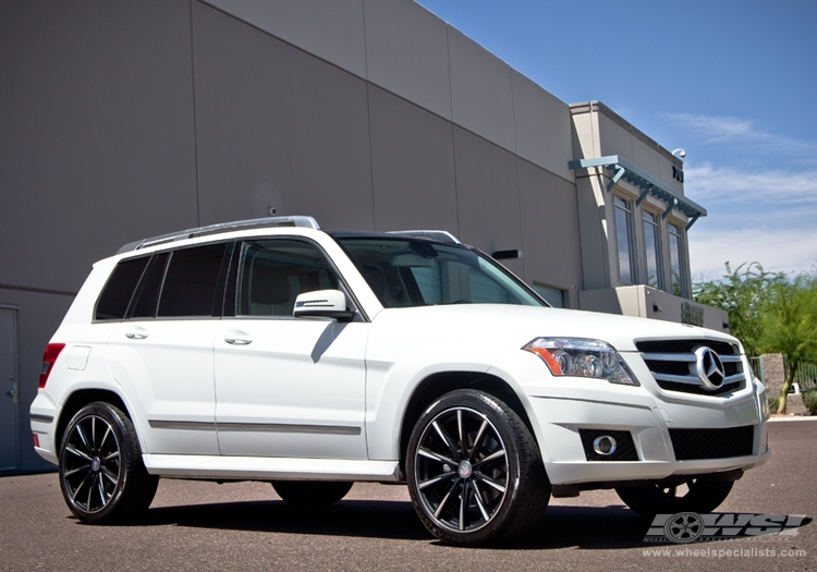 Mercedes benz glk class custom wheels gianelle cuba 10 20x for Mercedes benz tire sizes