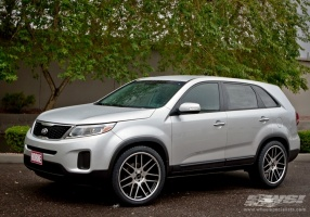 kia sorento custom wheels gianelle cuba 10 22x et tire. Black Bedroom Furniture Sets. Home Design Ideas