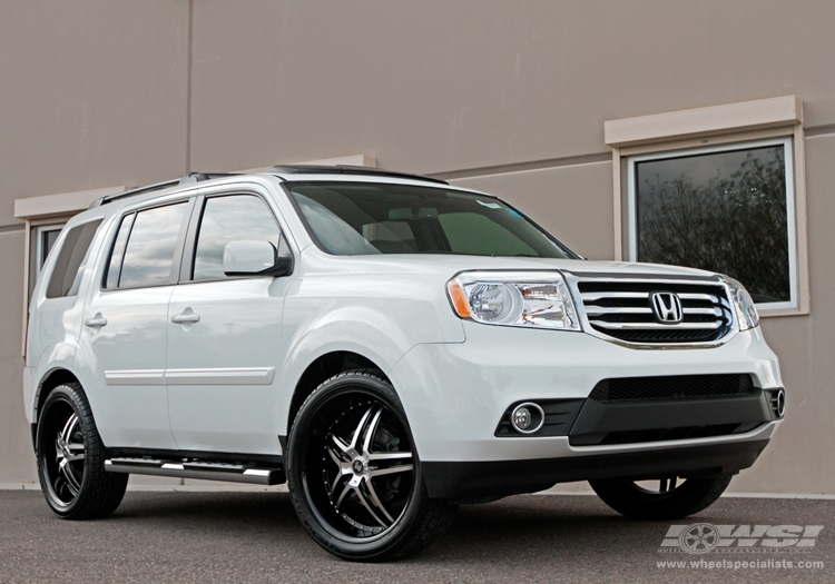Honda Pilot Custom Wheels 2crave No 17 22x Et Tire Size R22 X Et