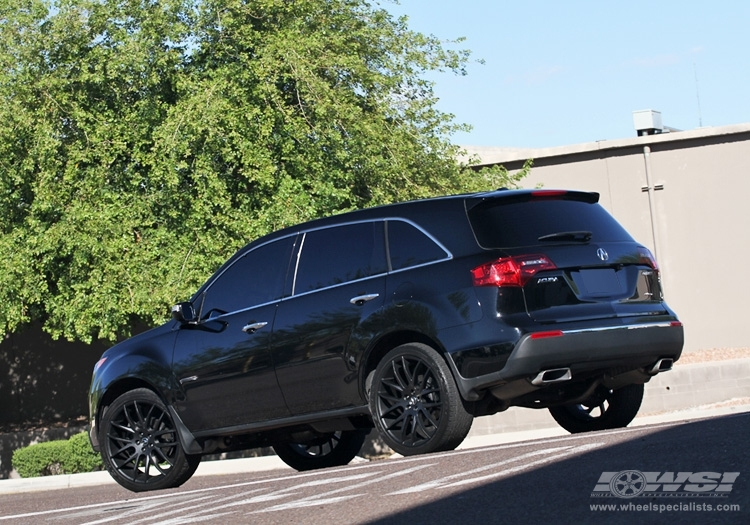 acura mdx custom wheels giovanna kilis 22x et tire size. Black Bedroom Furniture Sets. Home Design Ideas