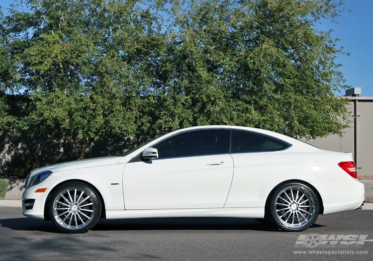 Mercedes benz c class custom wheels mandrus millennium 20x for Mercedes benz c300 tire size