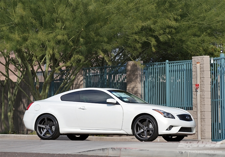 Infiniti G37 Custom Wheels Vossen Cv3 R 20x Et Tire