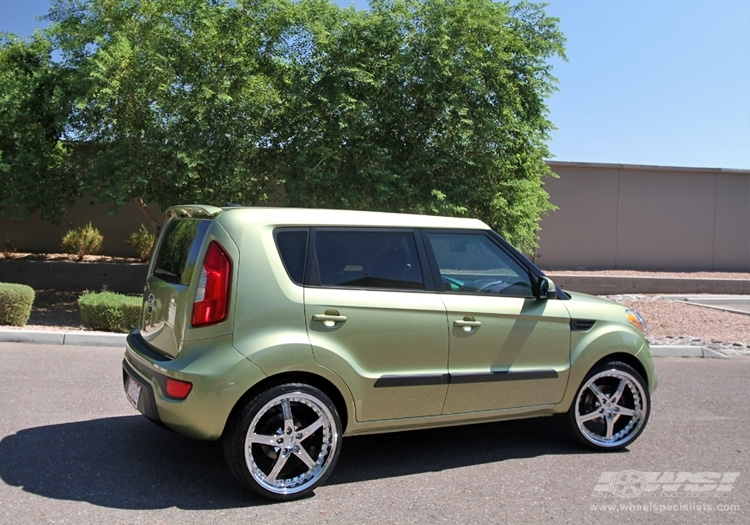 kia soul custom wheels giovanna gianelle spezia 5 20x et tire size r20 x et. Black Bedroom Furniture Sets. Home Design Ideas