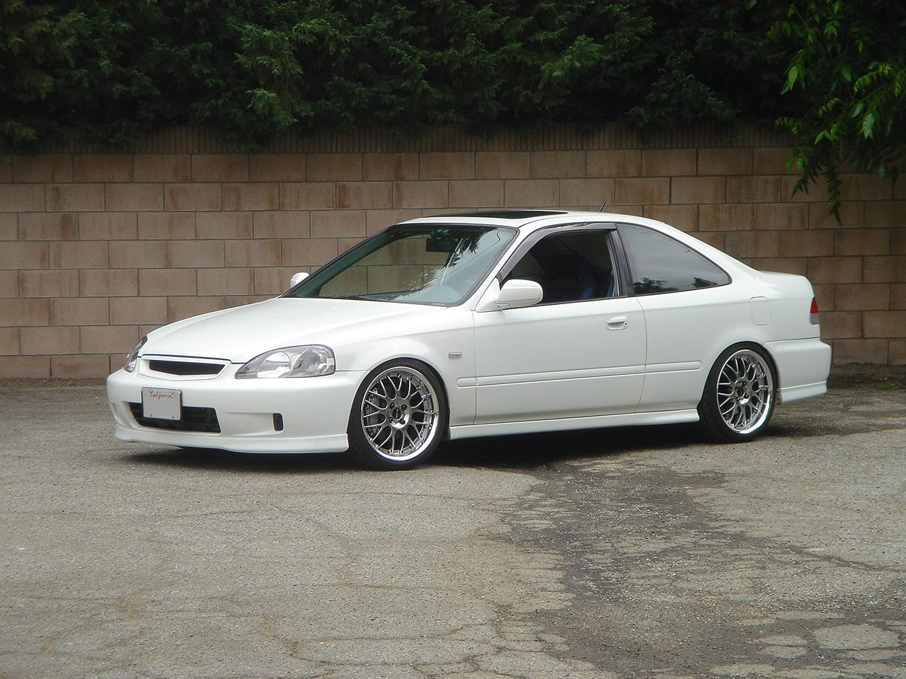 Elegant 2000 Honda Civic Aftermarket Wheels