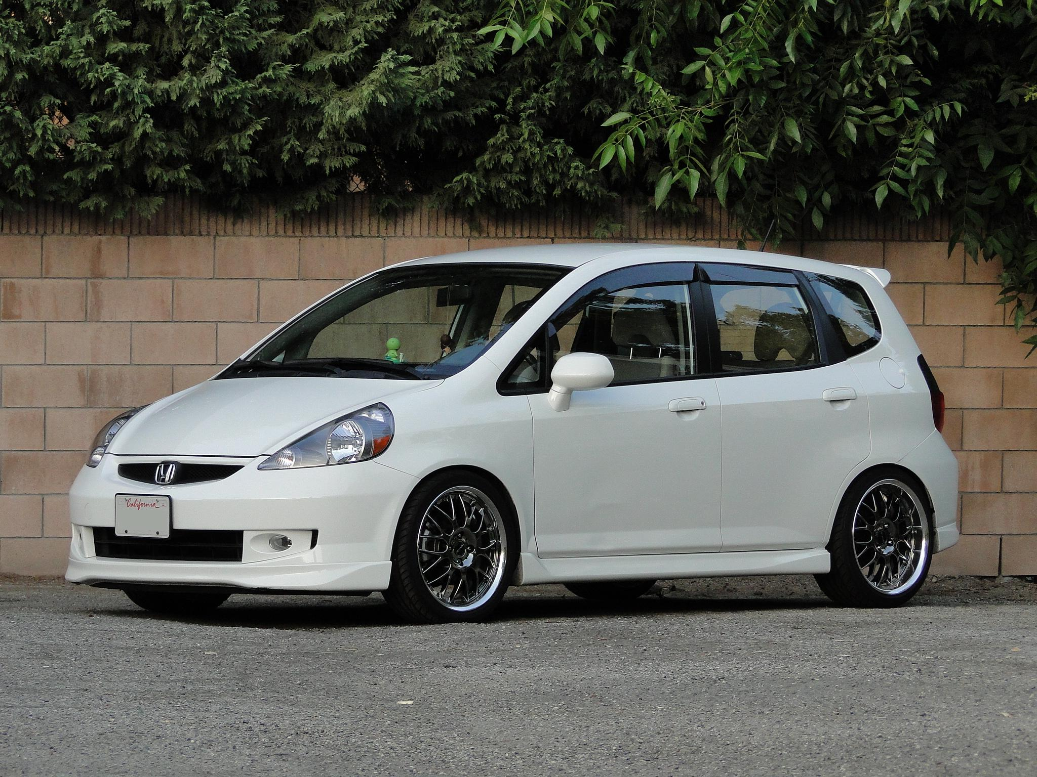 Marvelous 2007 Honda Fit Aftermarket Wheels