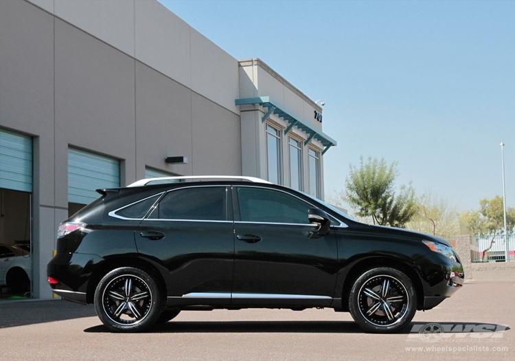 Lexus rx350 tire size