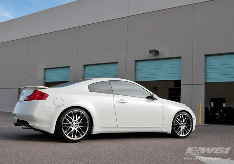 infiniti g35 custom wheels vossen vvs 094 20x et tire. Black Bedroom Furniture Sets. Home Design Ideas