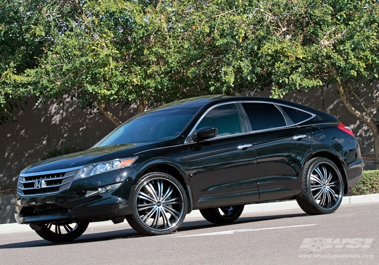 Honda Accord Crosstour Custom Wheels Mkw Avenue A601 22x
