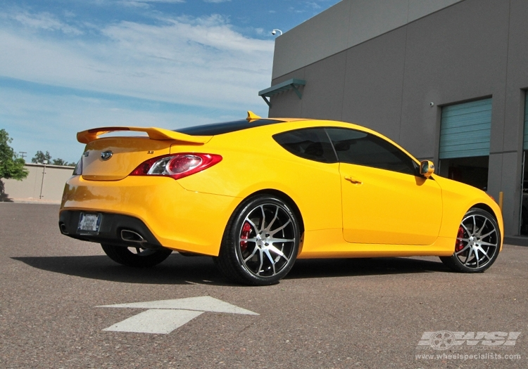 Hyundai Genesis Coupe Custom Wheels Axis Zero 20x Et Tire Size R20 X Et